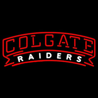 Colgate Raiders Wordmark 2002 Pres Logo NCAA Neon Sign Neon Sign