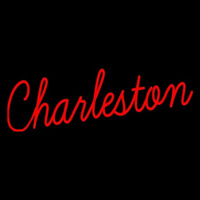 College of Charleston Cougars Wordmark 2013 Pres Logo NCAA Neon Sign Neon Sign