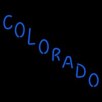 Colorado Avalanche Wordmark Pres Logo NHL Neon Sign Neon Sign