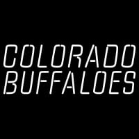 Colorado Buffaloes Wordmark Pres Logo NCAA Neon Sign Neon Sign