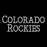 Colorado Rockies Wordmark 1993 Pres Logo MLB Neon Sign Neon Sign