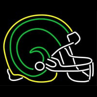 Colorado State Rams Helmet Logo NCAA Neon Sign Neon Sign