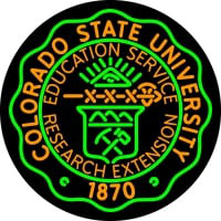 Colorado State University Neon Sign Neon Sign