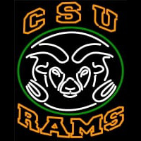 Colorado State University Rams Logo Neon Sign Neon Sign