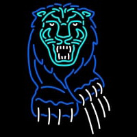Columbia Lions Primary Logo NCAA Neon Sign Neon Sign