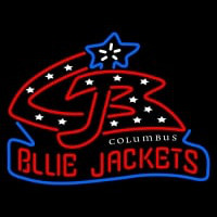 Columbus Blue Jackets Alternate Logo NHL Neon Sign Neon Sign