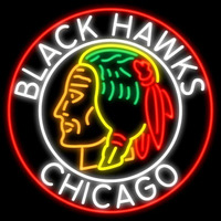 Commemorative 1938 Chicago Blackhawks Real Neon Glass Tube Neon Signs Neon Sign