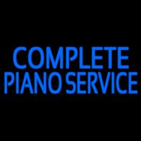 Complete Piano Service 1 Neon Sign