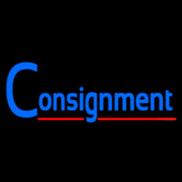 Consignment Neon Sign