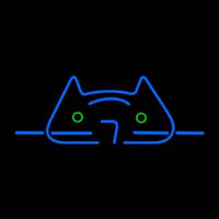 Cool Cat Neon Sign