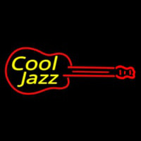 Cool Jazz Guitar 2 Neon Sign