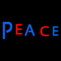 Cool Peace Neon Sign