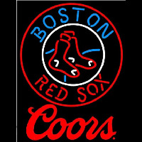 Coors Boston Red Sox MLB Beer Sign Neon Sign