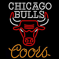 Coors Chicago Bulls NBA Beer Sign Neon Sign