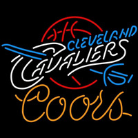 Coors Cleveland Cavaliers NBA Beer Sign Neon Sign