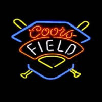 Coors Field Beer Bar Neon Sign