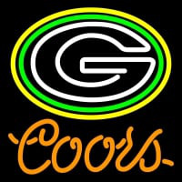 Coors Green Bay Packers Nfl Neon Sign Neon Sign