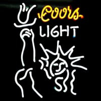 Coors Light Liberal Neon Sign