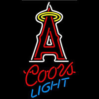Coors Light Anaheim Angels MLB Beer Sign Neon Sign
