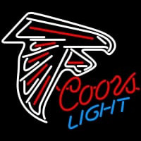 Coors Light Atlanta Falcons NFL Neon Sign Neon Sign