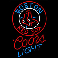 Coors Light Boston Red Sox MLB Beer Sign Neon Sign