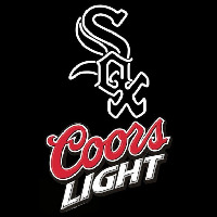 Coors Light Chicago White Sox Beer Sign Neon Sign