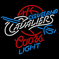 Coors Light Cleveland Cavaliers NBA Beer Sign Neon Sign