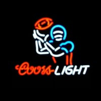 Coors Light Football Sport Neon Sign