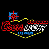 Coors Light Las Vegas Neon Sign