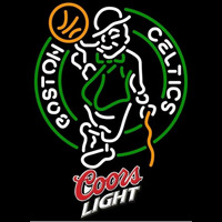 Coors Light Logo Boston Celtics NBA Beer Sign Neon Sign