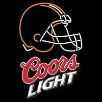 Coors Light Logo Cleveland Browns NFL Neon Sign Neon Sign
