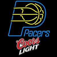 Coors Light Logo Indiana Pacers NBA Beer Sign Neon Sign