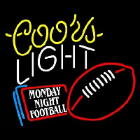 Coors Light Monday Night Football Neon Sign
