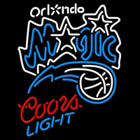 Coors Light Orlando Magic NBA Beer Sign Neon Sign