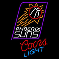 Coors Light Phoenix Suns NBA Beer Sign Neon Sign
