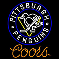 Coors Light Pittsburgh Penguins Beer Sign Neon Sign