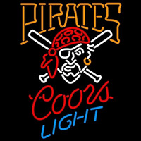 Coors Light Pittsburgh Pirates MLB Beer Sign Neon Sign