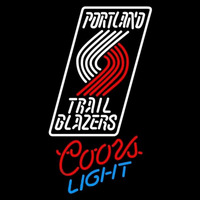 Coors Light Portland Trail Blazers NBA Beer Sign Neon Sign