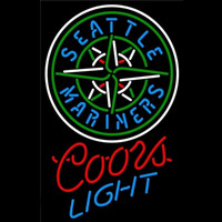 Coors Light Seattle Mariners MLB Beer Sign Neon Sign