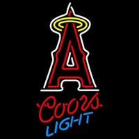 Coors Light Xanaheim Angels MLB Beer Sign Neon Sign