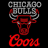 Coors Logo Chicago Bulls NBA Beer Sign Neon Sign