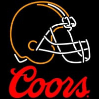 Coors Logo Cleveland Browns NFL Neon Sign Neon Sign