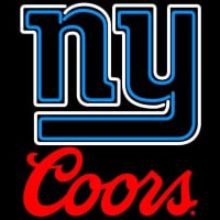 Coors Logo New York Giants NFL Neon Sign Neon Sign