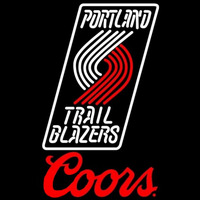 Coors Logo Portland Trail Blazers NBA Beer Sign Neon Sign