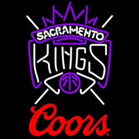 Coors Logo Sacramento Kings NBA Beer Sign Neon Sign
