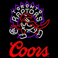 Coors Logo Toronto Raptors NBA Beer Sign Neon Sign