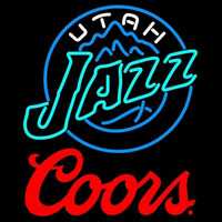 Coors Logo Utah Jazz NBA Beer Sign Neon Sign