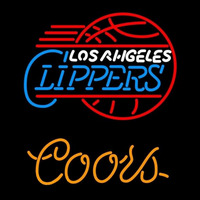 Coors Los Angeles Clippers NBA Beer Sign Neon Sign