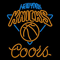 Coors New York Knicks NBA Beer Sign Neon Sign