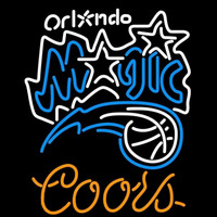Coors Orlando Magic NBA Beer Sign Neon Sign